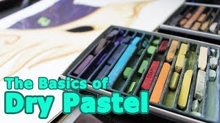 Download The Basics of Dry Pastel - How to use Dry Pastels Video