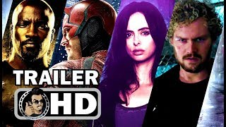 Download MARVEL'S THE DEFENDERS Official Final Trailer (HD) Marvel/Netflix Action Series Video