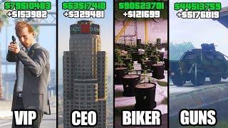 Download GTA 5 ONLINE - TOP 5 BEST BUSINESSES TO BUY & MAKE MONEY! (VIP, CEO, BIKERS & GUNRUNNING) Video