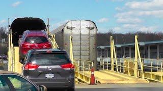 Download Amtrak Auto Train Loading and Leaving Lorton Virginia | Railfan Rowan Video