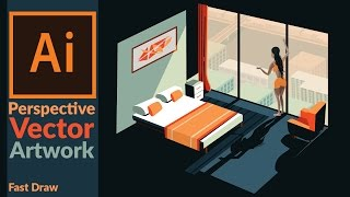 Download Drawing Perspective Vector Art in Adobe illustrator Video