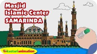 Mewarnai Masjid Agung Tuban Bersama Diva Kastari Animation