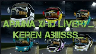 Download Kumpulan livery BUSSID Arjuna XHD | MALEO arjuna XHD Video