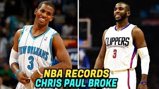 Download NBA RECORDS Chris Paul Has BROKEN! Crazy NBA Records! Video