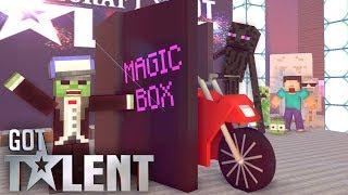 Download Monster school : Got talent - minecraft animation Video