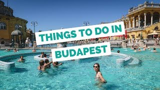 Download 25 Things to do in Budapest, Hungary Travel Guide Video