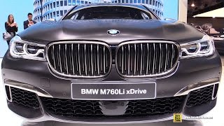 Download 2017 BMW M760Li xDrive V12 600hp - Exterior and Interior Walkaround - Debut 2016 Geneva Motor Show Video