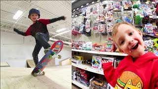Download FATHER SON SKATE & TOY ADVENTURE TIME! Video
