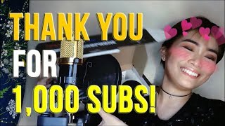 Download BM-800, MY SETUP AND HOW I EDIT MY VOCALS | Rufina Guerrero (THANK YOU FOR 1K SUBS!) Video