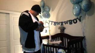 Download Wife surprises Husband w/ a Newborn BABY in a box! Video