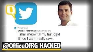 Download The Quint: RaGa's Twitter Handle Hacked, Series of Obscene Tweets Posted Video