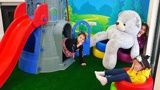 Download Masal Öykü and Friends Hide and Seek! The Floor is Lava - Funny Kids Video Video