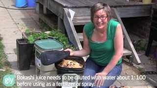 Download Bokashi Basics - How to set up a bokashi bucket for small scale kitchen waste Video