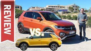 Download VW T-Cross vs. T-Roc: Unterschiede, Vergleich und Qualität im Test – Polo SUV gegen Golf SUV! Video