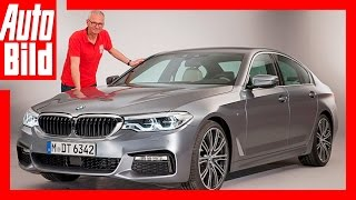 Download Neuvorstellung: BMW 5er / 2017 / Erste Sitzprobe im neuen 540i / Review Video