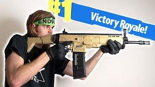 Download NERF Mod: Fortnite Battle Royale Scar Nerf Gun Mod IN REAL LIFE! Video