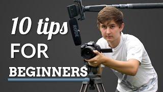 Download 10 Tips for Beginner Filmmakers Video