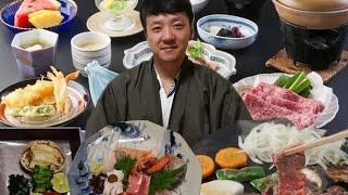Download FIRST Time Trying KOBE BEEF STEAK! & EXPENSIVE Kaiseki Meal at Ryokan in Kobe Japan Video