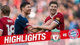 Download Highlights: Liverpool Legends 5-5 FC Bayern Legends | Alonso, Gerrard, Kuyt and more Video