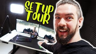 Download Jacksepticeye's Office Setup Tour Video