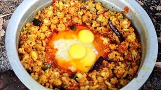 Download Cauliflower & Egg Recipe By My Granny Video