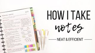 Download How I take notes - Tips for neat and efficient note taking | Studytee Video