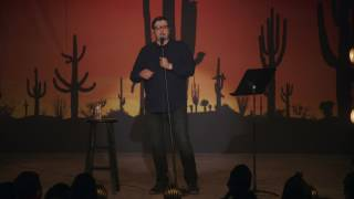 Download Eugene Mirman: Vegan On His Way To The Complain Store Video
