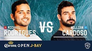 Download Michael Rodrigues vs. Willian Cardoso - Round of 32, Heat 10 - Corona Open J-Bay 2019 Video