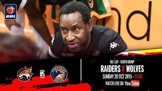 Download 2019-20 BBL Cup, South Group: Plymouth Raiders v Worcester Wolves - 20 Oct 2019 Video