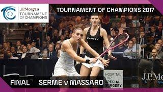 Download Squash: Serme v Massaro - Tournament of Champions 2017 Final Highlights Video