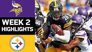Download Vikings vs. Steelers | NFL Week 2 Game Highlights Video