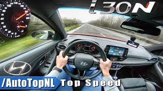 Download Hyundai i30N AUTOBAHN POV - ACCELERATION & TOP SPEED - by AutoTopNL Video