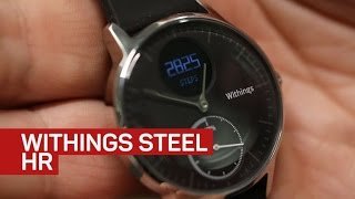 Download Withings Steel HR hides heart rate fitness tracking in a normal watch Video