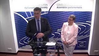 Download Press statement PACE President and Croatian Prime Minister Video