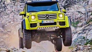 Download New Mercedes-Benz G500 4x4² revealed Video