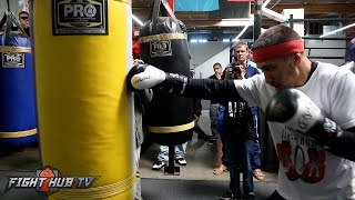Download Vasyl Lomachenko's COMPLETE Heavy Bag workout ahead of Jason Sosa fight Video