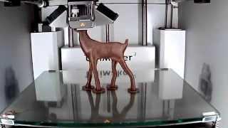 Download Ultimaker 2 - 3D printing timelapse of a beautiful Deer model Video
