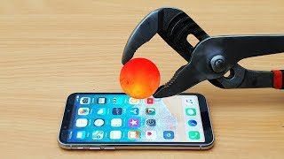 Download EXPERIMENT Glowing 1000 Degree METAL BALL vs iPhone X Video