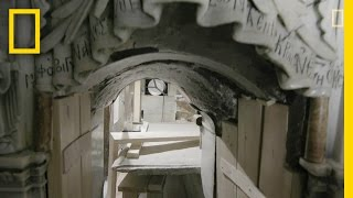Download EXCLUSIVE: A Closer Look Inside Christ's Unsealed Tomb | National Geographic Video