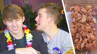Download Trying Some Crazy Hawaiian Snacks!?! (Whole Crispy Crabs!?!) Video
