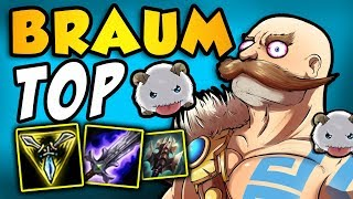 Download Braum TOP with Press the Attack and Trinity Force | Adventures of SpicyNoodle264 [Episode 11] Video