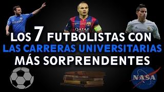 Download TOP: 7 FUTBOLISTAS CON LAS CARRERAS UNIVERSITARIAS MÁS SORPRENDENTES | Renacimiento 21 Video