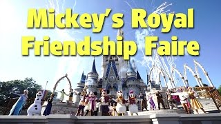Download NEW ″Mickey's Royal Friendship Faire″ Castle Stage Show | Magic Kingdom Video
