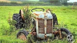 Download The Abandoned Farm Tractors 2016. Creepy Old Rusty Tractors. Video