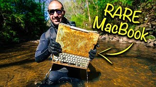 Download Found RARE MacBook From 1984 In Urban River!!! (Apple Computer) Video