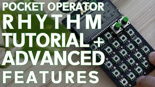 Download TE Pocket Operator PO-12 RHYTHM Tutorial + Advanced features! Video