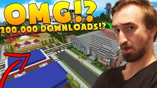 Download THIS MAP HAS 200,000 DOWNLOADS!? - MINECRAFT LIVING IN A DOME Video