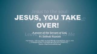 Download Jesus, You Take Over - Great prayer against worry and stress! Video