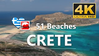 Download 51 Best Beaches of West CRETE, Greece ► 30 minutes 4K Video