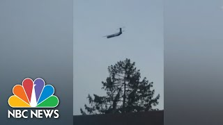 Download Stolen Plane's Flight Captured On Video By Witnesses | NBC News Video